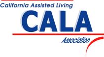 california Assisted Living CALA Association logo blue and red