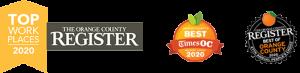 best of orange county 2020 award top workplaces 2020 award