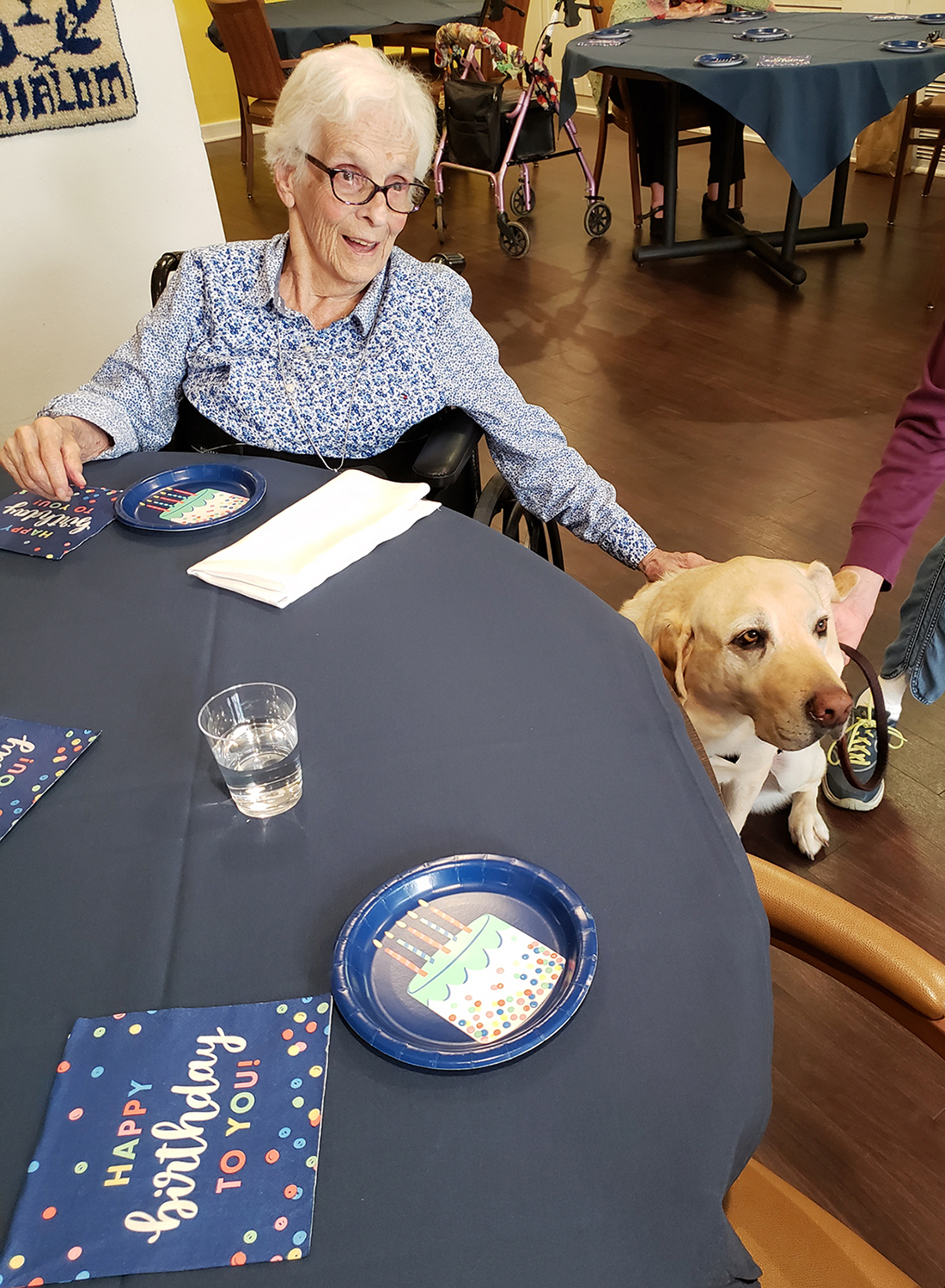 Birthday party in Memory Care-web